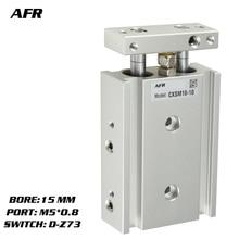 купить SMC Type Dual Rod Cylinder Basic TYPE double cylinder / double shaft cylinder CXSM15-25 CXSM15-30 CXSM15-35 -Z73 -Y59A дешево