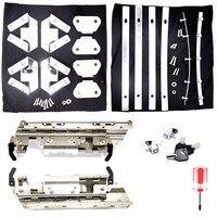 Hard Saddlebag Hardware Latch Lock Hinge Kits For Harley Road King Electra Street Glide FLHX FLHR FLH/T 96 13 Model
