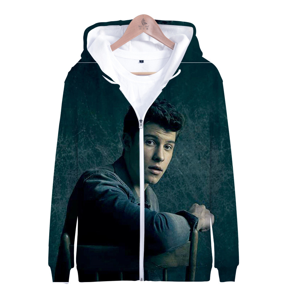 Shawn Mendes Men Women Hooded Hoodie Casual Loose Sweatshirt Pullover Jacket New