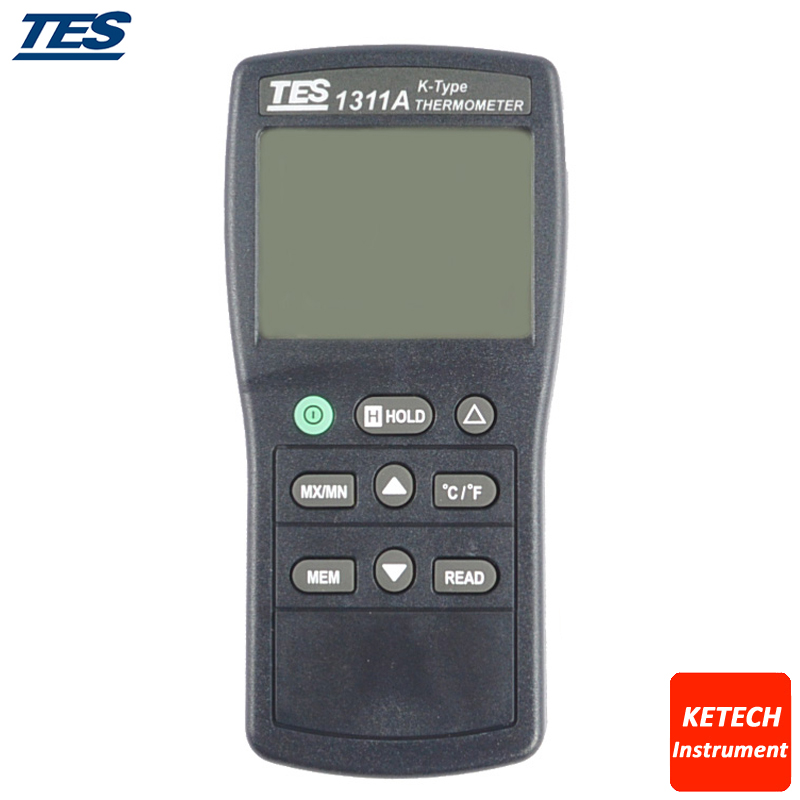 TES1311A Dgital Thermometer K Type Thermocouple tes1300 portable dgital k type thermocouple thermometer