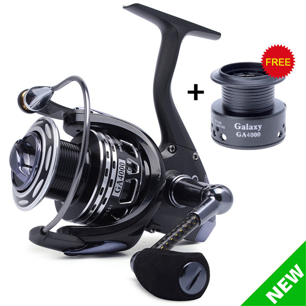Pre-Loading Spinning Wheel Worm Shaft Structure 13BB 2000 3000 4000 Series Lure Spinning Fishing Reel With Carbon Fiber Handle nunatak naga 5 2 1 4 7 1 11bb 7 5kg spinning fishing reel 2000 3000 4000 5000 spinning wheel fishing tackle with spare spool