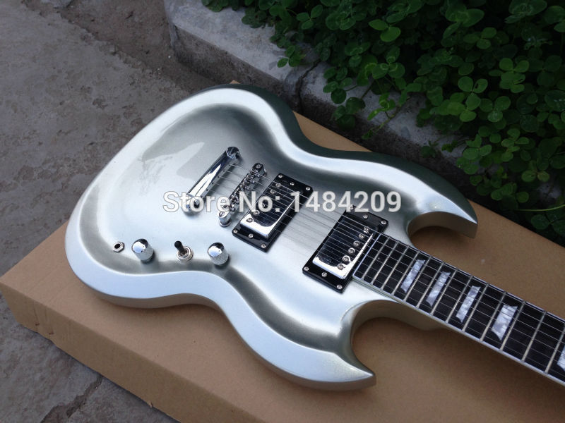 Guitar rock picture more detailed picture about custom guitar custom guitar shape with cnc working upper body contour shape strip finished gloss chrome ccuart Gallery