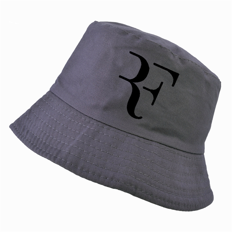 00015d22 2018 Tennis Star Roger Federer Dad bucket hat Sport fishing cap 100% cotton  3D printing Unisex fisherman caps Tennis hat F Hats-in Bucket Hats from  Apparel ...