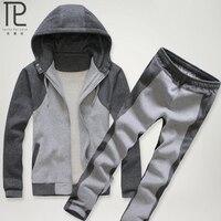 New Brand Tracksuit Men Set Autumn And Winter Suit Men Sweater Suit Fashion 100 Cotton Clothing