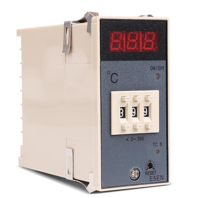 Függőleges BE / KI Digitális hőmérsékletszabályozó E5EN - Mérőműszerek - Fénykép 1
