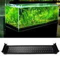 Fish Tank Aquarium LED Lighting 50CM-68CM Extendable Frame Lamp SMD 72 Leds 11W White + Blue 2 modes EU/US/UK Power Plug Adapter