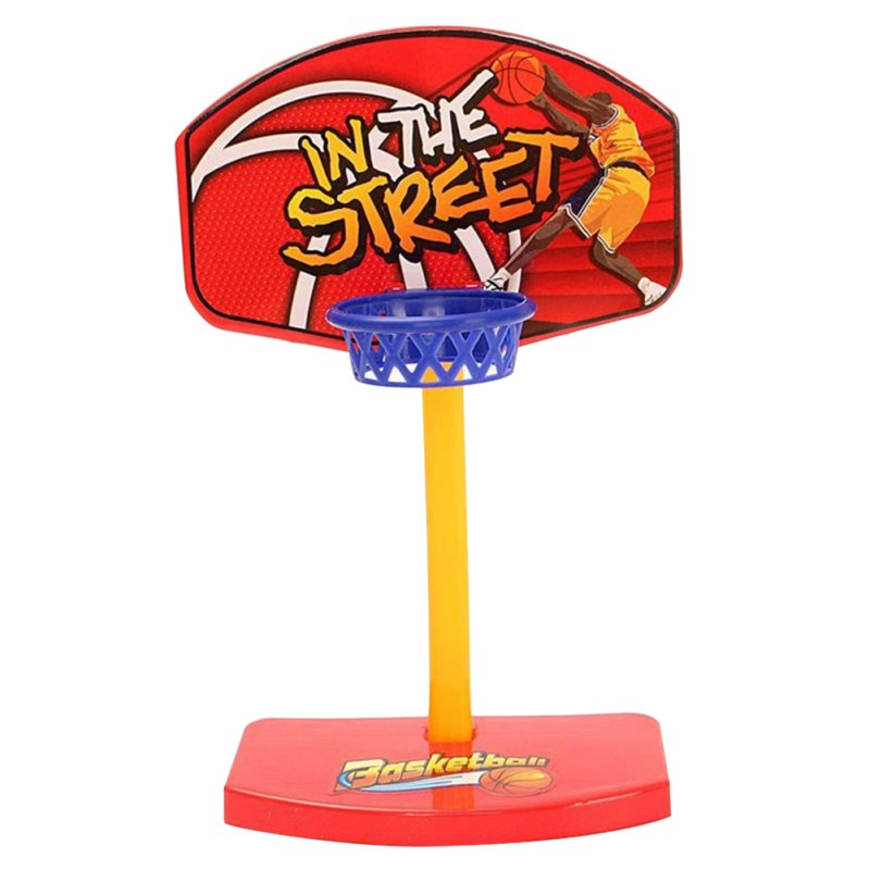 Mini Parrot Toys Shooting Basketball Stand Hoop Basket Desktop Random Color Bird Toys