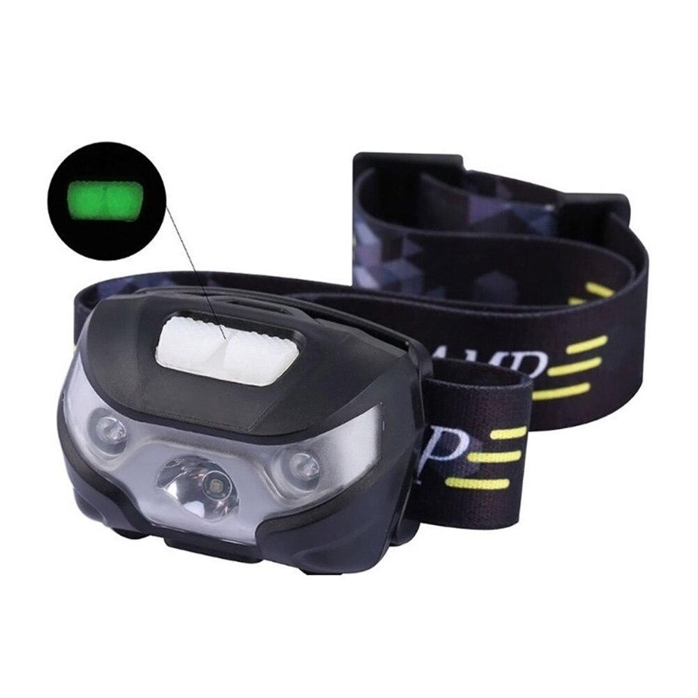 LED Projecteur USB Rechargeable Mains Libres Phares Phares Étanches pour la Course Camping Cyclisme Pêche CLH @ 8
