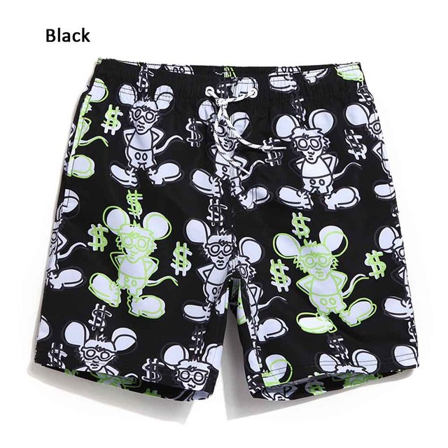 Pants Short Male Brand Beach Body Men Engineers Plus Size Sportswear Shorts Surfwear Men's Swimwear Trunks Summer QMA256