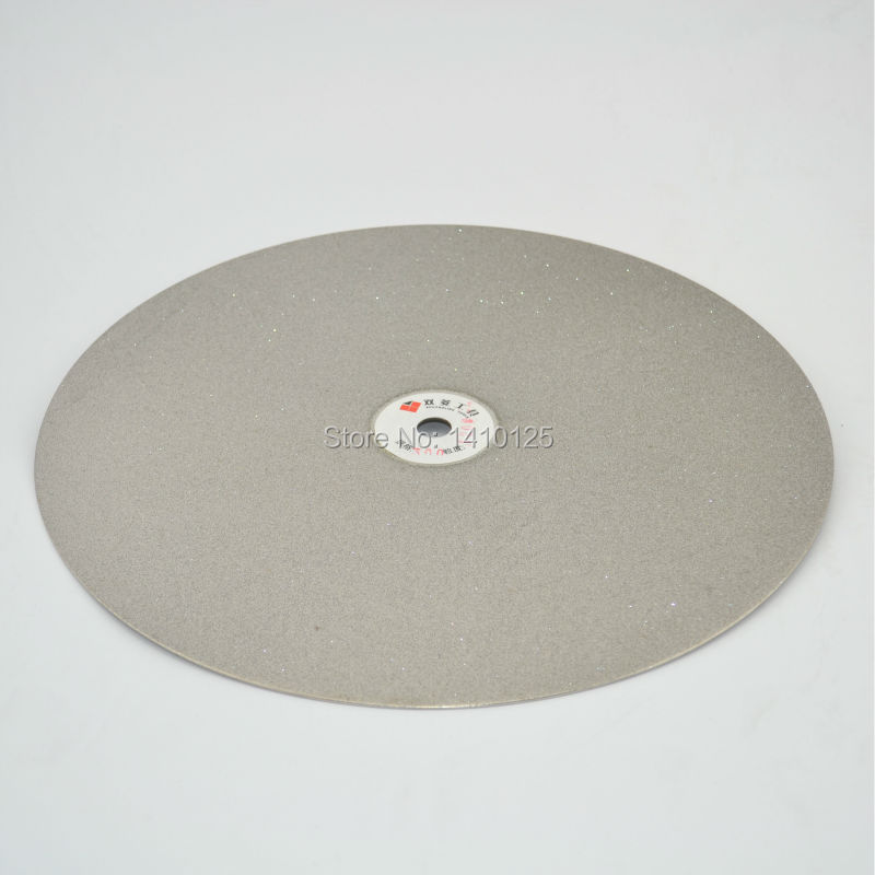 12 inch 300mm Grit 120 Diamond coated Flat Lap Disk Grinding Polish wheel Coarse