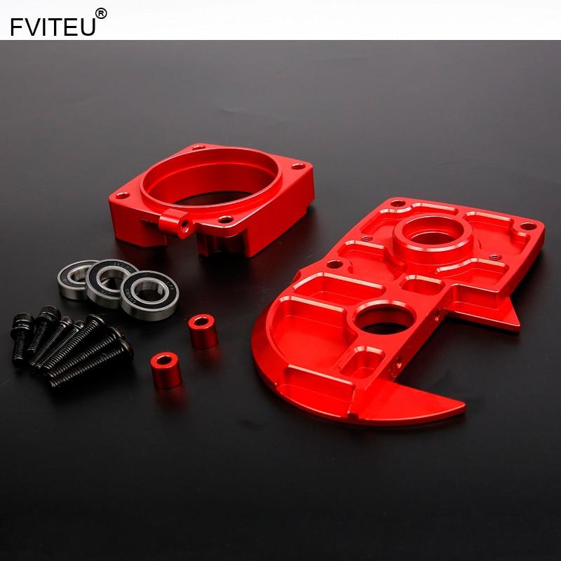 FVITEU Quick Release CNC Alloy clutch bell Support Fits 1 5 hpi rovan king motor baja