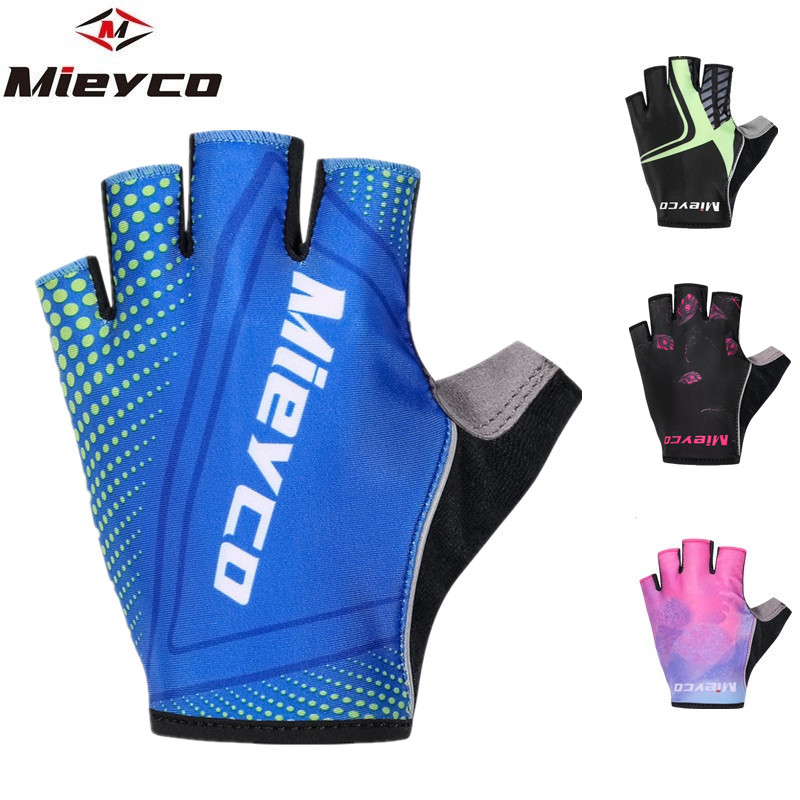 Cycling Gloves Gel Padded Bike Gloves Sport Shockproof Mtb Road Half Finger Bicycle Glove For Men Woman Riding Outdoor Sport