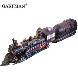 Бумажная модель поезда доктора в фильме «Назад в будущее» мягкая игрушка ручной работы