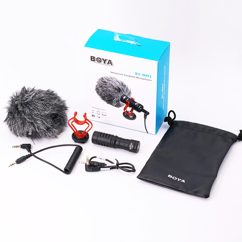 Original-BOYA-BY-MM1-Shotgun-Microphone-