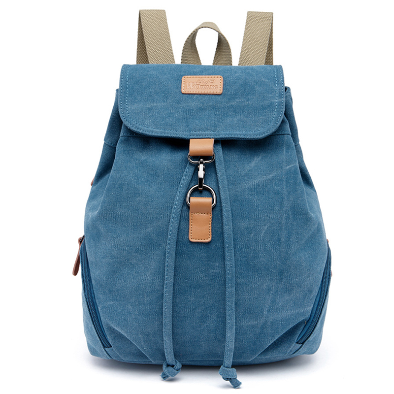 Preppy Style Backpack Large capacity Canvas Daily Backpack Lady Women s Backpacks Female Casual Travel Bag
