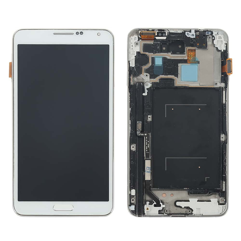 Only For Samsung galaxy Note 3 III SM-N900A N900A LCD Display Touch Screen With Digitizer Assembly N900A,White Color