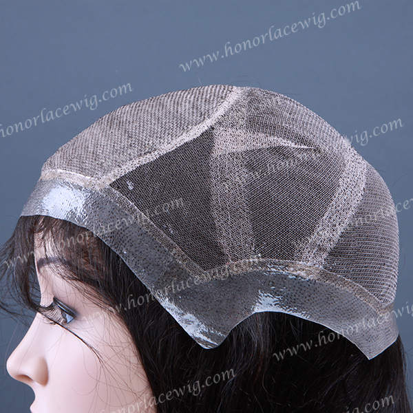thin skin pu around Silk top 4 x4 hidden knot full lace wigs very natural hairline