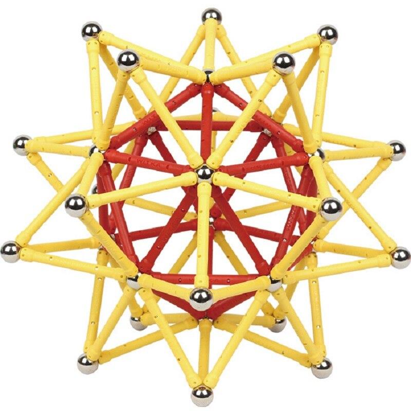 Interesting Magnetic Designer Magnets Sticks Balls Bar Beads Educational Diy Construction Kits Toys Sets For Kid Intelligence Up