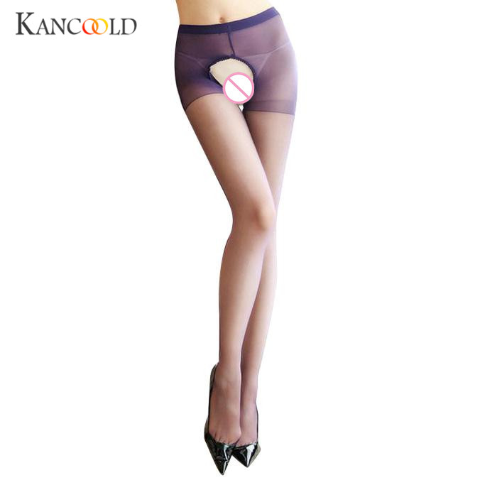 Fashion Elastic Magical Stockings New Women Seamless Sexy Solid Thin Pantyhose Ladies Tights Nude Sheer Mesh Collant Femme OC06