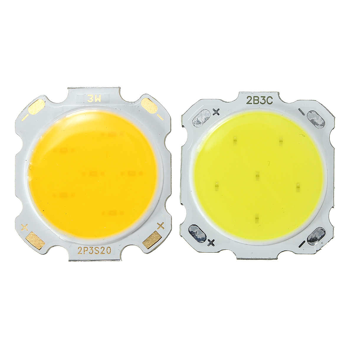 Lowest Price 3/5/7W LED Red Yellow Blue Green White SMD COB High Power Integrated Light Lamp Pure Warm White