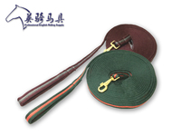 With high quality products 8 meters of horse training rope longe thickening webbing Equestrian equipment 8m