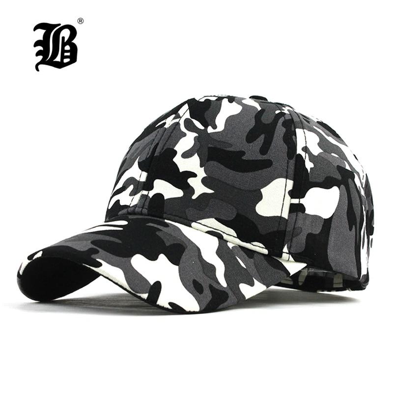 [FLB]  Snow Camo Baseball Cap Men Tactical Cap Camouflage Snapback Hat For Men High Quality Bone Masculino Dad Hat Trucker F187
