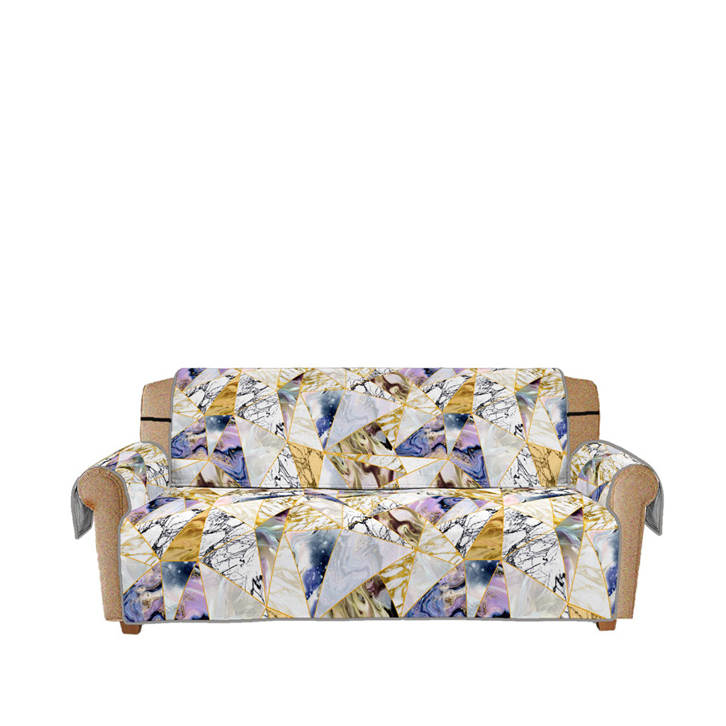 Astonishing Us 13 43 46 Off Sofa Cover Nonslip Protection Pad Marble Pattern Nonslip Quilted Sofa Chair Pet Dog Kids Pad Furniture Protect Pad Polyester 5 6 In Machost Co Dining Chair Design Ideas Machostcouk