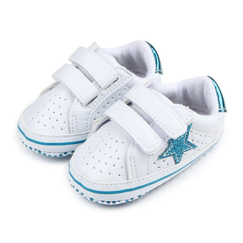TELOTUNY Baby Soft Five-Pointed Star Baby Toddler Shoes Breathable Kid Shoes Anti-slip comfortable Anti-slip Crib ShoesS3FEB18