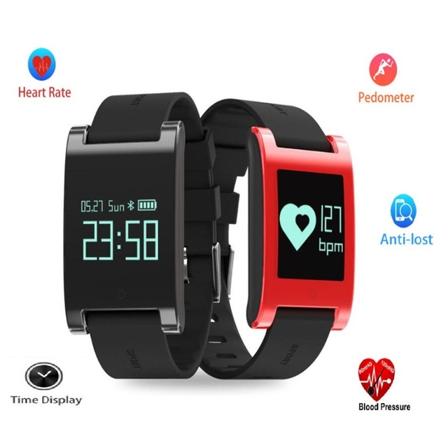 New Smart Watch Men Women Waterproof Bluetooth Smart Band Heart Rate Blood Pressure Monitor Pedometer Wristband for Android IOS
