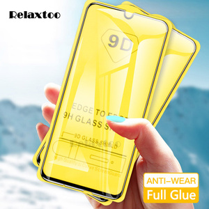 Image 1 - 9D Curved Tempered Glass For Samsung Galaxy A10 A20 A30 A40 A50 A60 Protective Film on A 10 20 30 40 50 60 Screen Protector glas