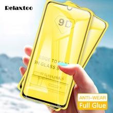 9D zakrzywione szkło hartowane dla Samsung Galaxy A10 A20 A30 A40 A50 A60 folia ochronna na 10 20 30 40 50 60 ochraniacz ekranu szkło