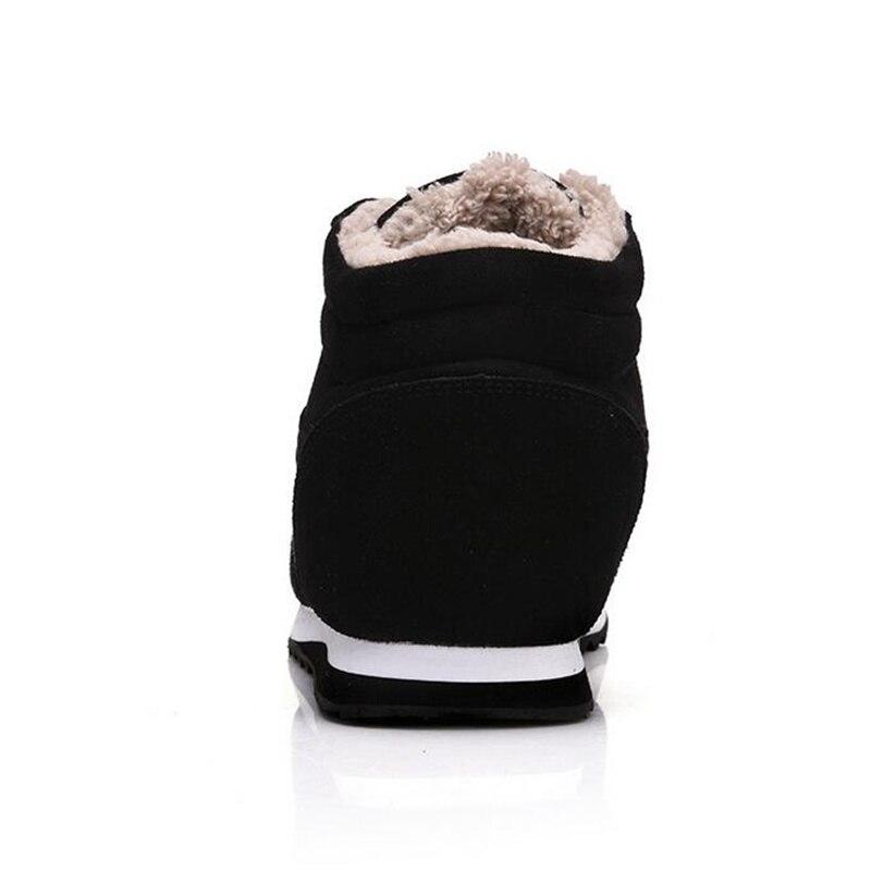D'hiver Cuir Hiver Chaussures Nouvelle Mode En Chaud Suède De bleu Hommes Top Ak554 Fourrure Neige Noir Casual Bottes Akexiya Cheville 2018 nTCPpqxw