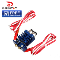 3DSWAY 3D Printer Parts Improved Version Blue 2 In 2 Out Hotend Dual Color Switching Hotend