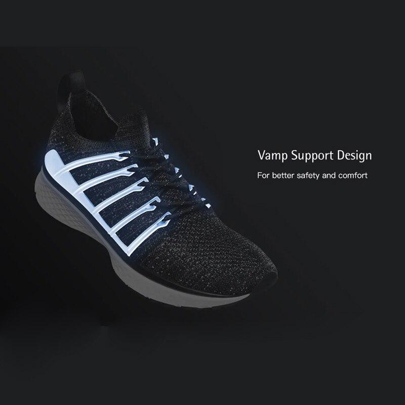 Chaussures d'origine Xiaomi Mijia 2 baskets Sport Uni-moulage Techinique système de verrouillage en arête de poisson empeigne à tricoter élastique pour hommes et femmes - 2