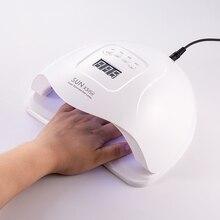 80 w 태양 x5 플러스 uv 램프 전문 led 네일 램프 적외선 자동 센서와 더블 라이트 네일 건조기 모든 젤 네일 폴란드어 치료