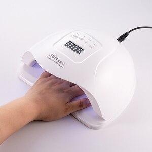 Image 1 - 80W SUN X5 PLUS UV Lamp Professional LED โคมไฟเล็บคู่เล็บอินฟราเรด Auto SENSOR การบ่มเจลเล็บ