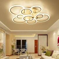Modern LED Ceiling Lights Remote Control Aluminum Ceiling Lighting For Bedroom Living Room Indoor Ceiling Lamp