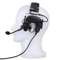 SEIGNEER tactical Sordin Tactical Headsets Airsoft Comtac Z 038 ZCOMTAC IV IN THE EAR Helmet Noise Canceling Headphone