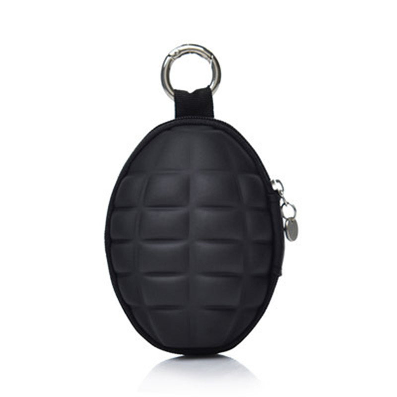 High Quality Multi-purpose The Wizard Grenade Housekeeper Key Holder Grenade Key Bag Purse Key Wallet fat fish key wallet coin purse package characteristics of the national wind cloth animal key sets key ring wholesale mixed batch