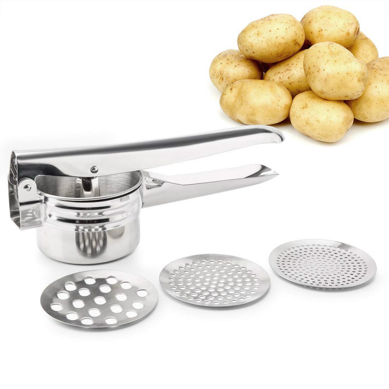 Stainless Potato Masher and…