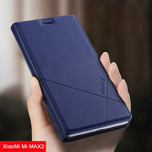 Alivo Роскошные Флип кожаный чехол для Xiaomi Mi Max 2 Чехол Max2 Стенд Мода бумажник телефон чехол для Xiaomi Mi Max2 Fundas 6.44″
