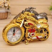 1 шт., четыре стиля, будильник-мотоцикл, пластиковые часы, будильник, креативный будильник, подарок для дома