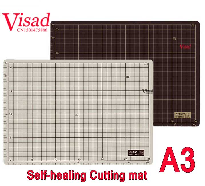 Us 66 0 25 Off Pu Self Healing Cutting Mat With Grid Lines A3 Japan Cutting Mats 135b Cutter Pad For Quilting Craft Large Cutting Board In Painting