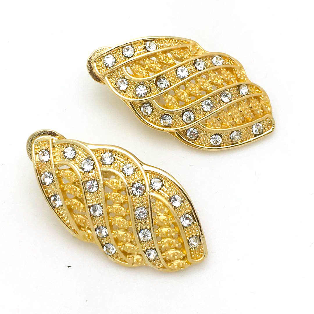 2019 ניגרי אפריקאי תכשיטי סט עבור כלות דובאי זהב תכשיטי סטים לנשים אפריקאי גדול שרשרת עגילי תכשיטים