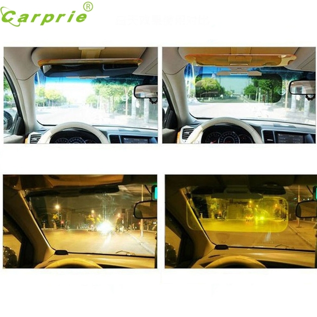 Dependable car styling Car Sun Visor Anti Blocker UV Fold Flip Down HD Clear View Visor Ma26 dropshipping