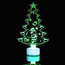 Colorful LED Decorative lights New Year's products christmas tree decorations party supplies adornos de navidad para casa