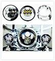 Motocicleta 7 pulgadas Harley Daymaker LED faros antiniebla Faro y 4.5 pulgadas Que Pasa y Anillo Adaptador para Harley Davidso-n Motocicletas