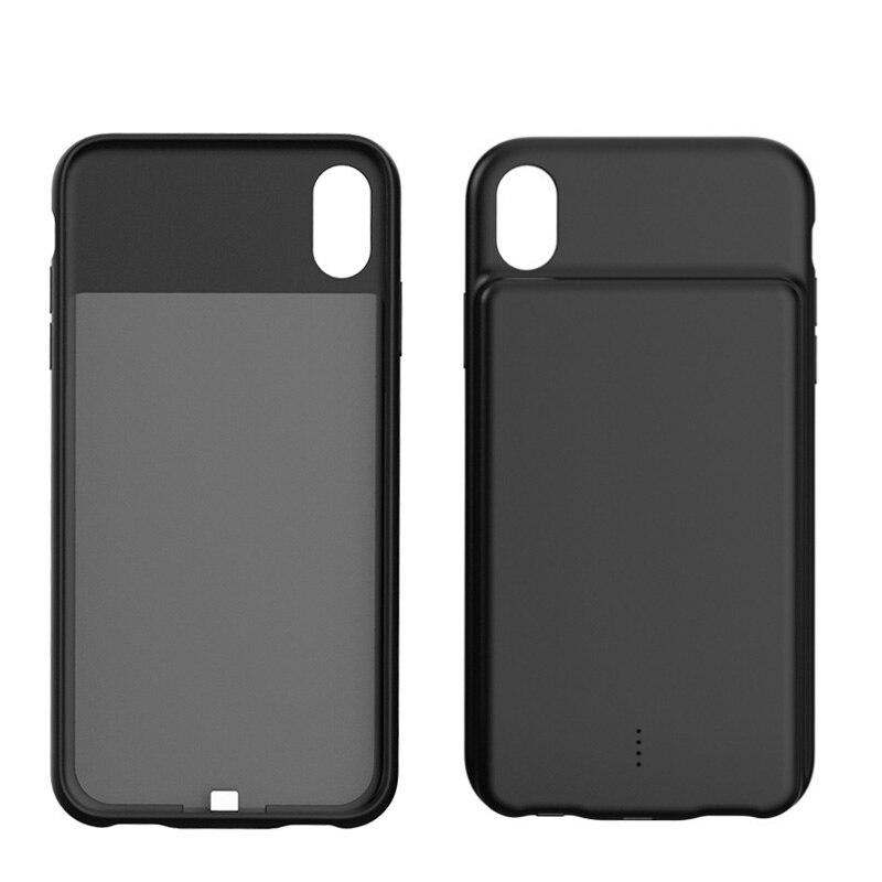Аккумулятор резервного питания чехол для iPhone XR/Xs Max 5000 мАч батарея чехол для телефона Тонкий высокой емкости портативный
