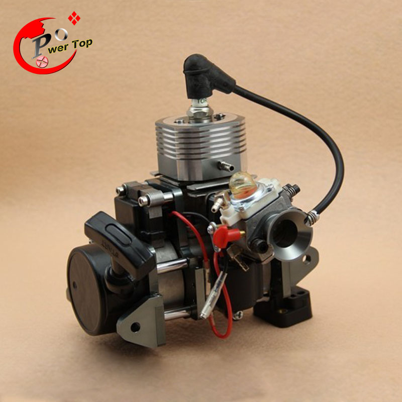 CNC 29CC Water-cooled Engine for RC Boats with reverse engine aluminum water cool flange fits 26 29cc qj zenoah rcmk cy gas engine for rc boat
