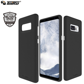 TOIKO X Guard Case for Samsung Galaxy Note 8 Hybrid PC TPU Armor 2 in 1 Mobile Shell Drop Protection Shockproof Cell Phone Cover